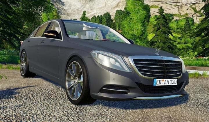 FS19 - Mercedes S63 V1