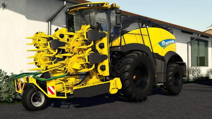 FS19 - New Holland Fr850 Yellow Bull V1