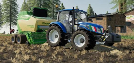 Photo of FS19 – New Holland T4 Tractor V1.1