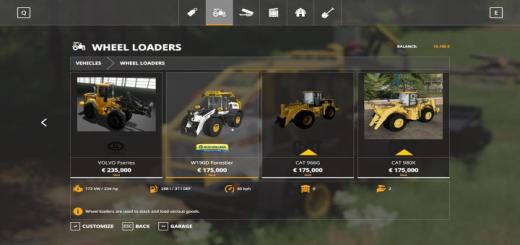 Photo of FS19 – New Holland W-190 Forestier V1
