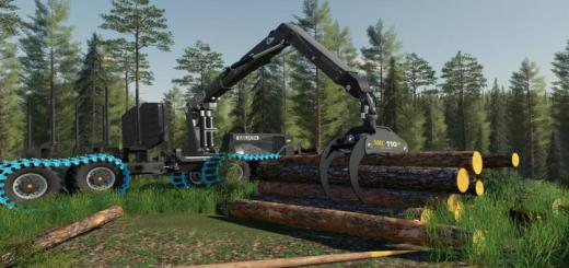 Photo of FS19 – Nmc Goliath Forest Machines V1