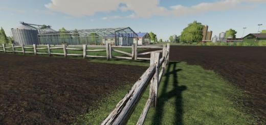 Photo of FS19 – Old Fence With Gate V1