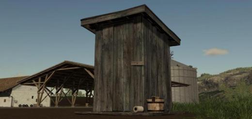 Photo of FS19 – Outhouse V1.1