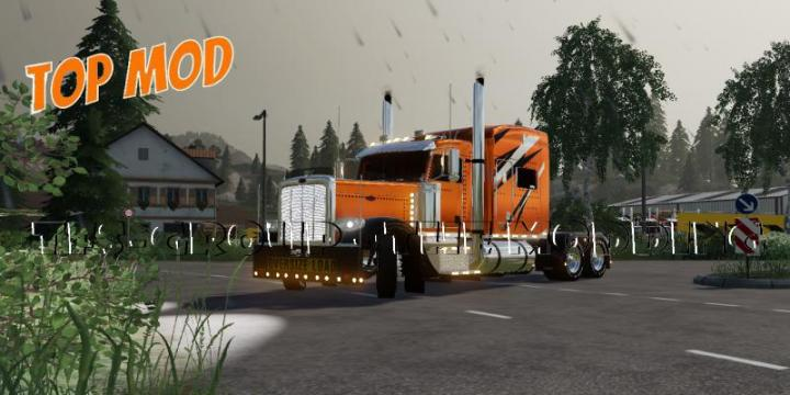 FS19 - Peterbilt 388 Top Run V2