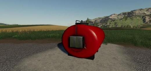 Photo of FS19 – Placeable Fuel Tank V1
