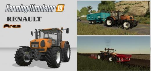 Photo of FS19 – Renault Ares 836 Rz Tractor V1