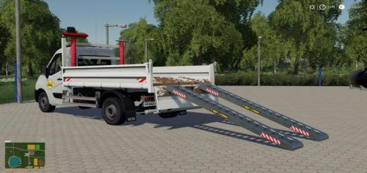 Photo of FS19 – Renault Benne Sdm With Ramps Support V1.2