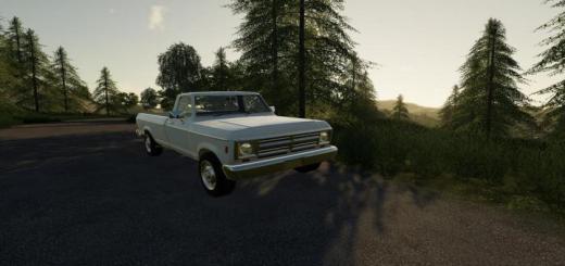 Photo of FS19 – Rodeo Pickup V1.1