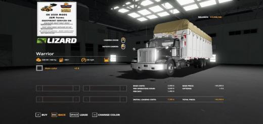 Photo of FS19 – Round Cotton Module Truck V1