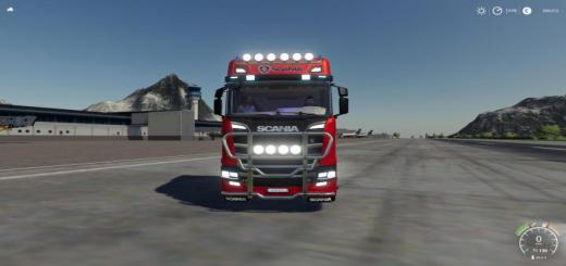 Photo of FS19 – Scania Heavy Hauler 8X4 V1