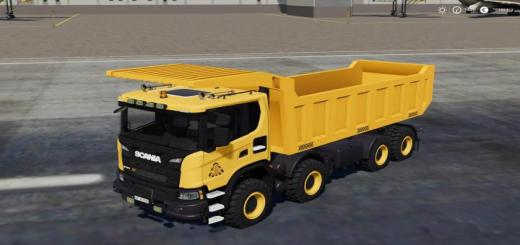 Photo of FS19 – Scania Xt 8X8 Mining Truck V1