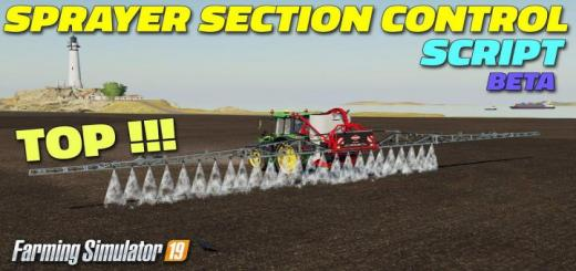 Photo of FS19 – Sprayer Section Control V0.2.1.0