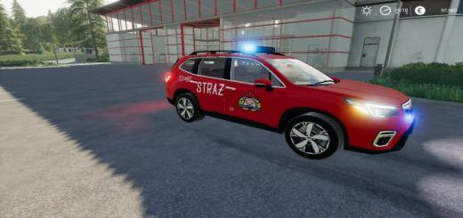Photo of FS19 – Subaru Forester Straz V1.1