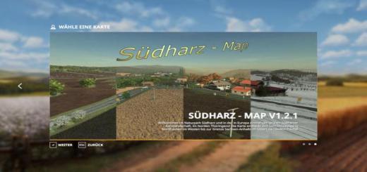 Photo of FS19 – Sudharz Map V1.2.1