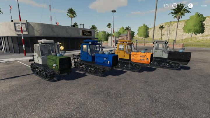 FS19 - T-150 Tractor V1.5