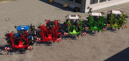 Photo of FS19 – Tedders Addon V1