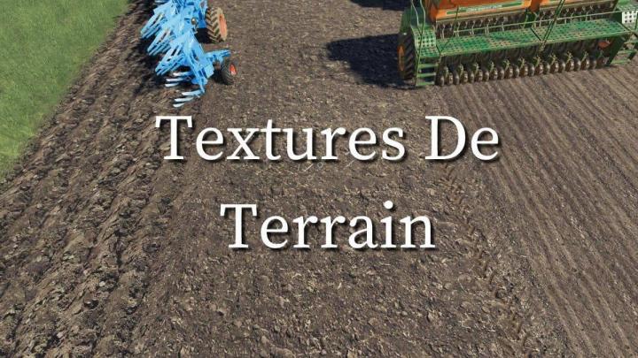 FS19 - Terrain Textures V1