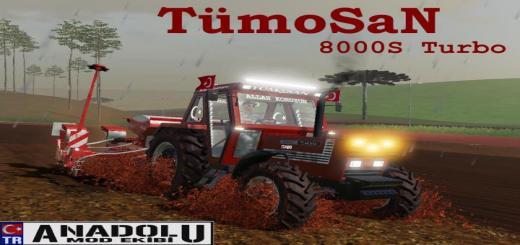 Photo of FS19 – Tumosan 8000 Series Turbo Led And Flashing V2.1