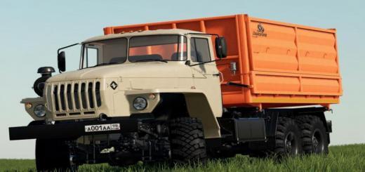 Photo of FS19 – Ural 5557/4320-60 Farmer V1