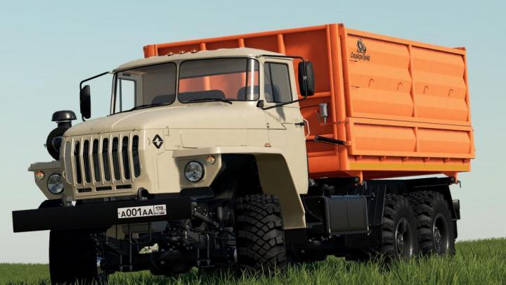 FS19 - Ural 5557/4320-60 Farmer V1