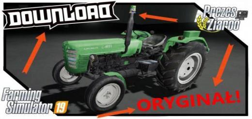 Photo of FS19 – Ursus C4011 Tractor V1