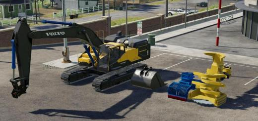 Photo of FS19 – Volvo Ec480E Forest V1