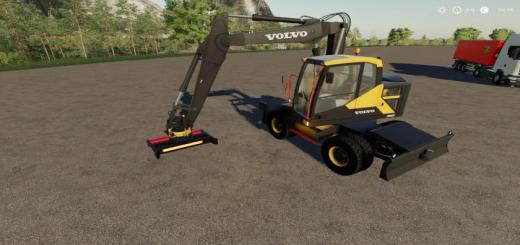 Photo of FS19 – Volvo Ewr-150E Implement Fix V1.1
