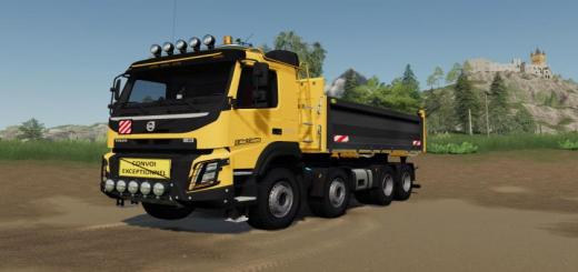 Photo of FS19 – Volvo Fmx 8X4 Construction Edition V1