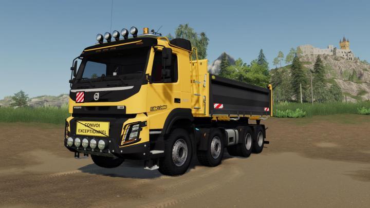 FS19 - Volvo Fmx 8X4 Construction Edition V1