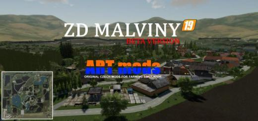 Photo of FS19 – Zd Malviny Map Beta