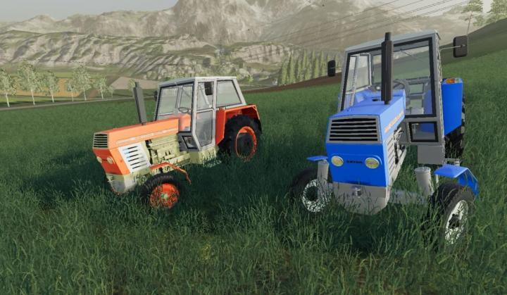 FS19 - Zetor 8011 Tractor V1