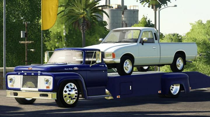 FS19 - 1964 Ford T850 Ramp Truck V1