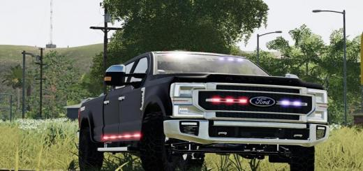 Photo of FS19 – 2020 Ford Ghost Police Truck V1.2.2