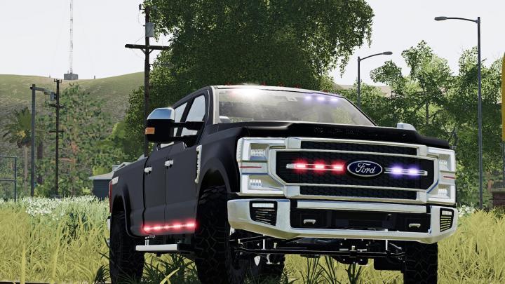 FS19 - 2020 Ford Ghost Police Truck V1.2.2