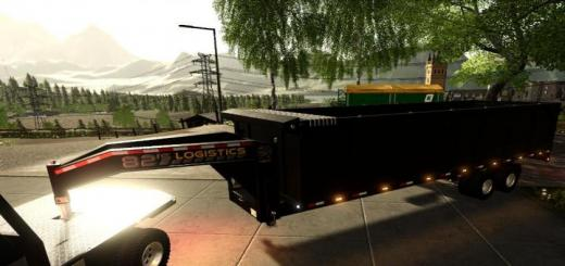 Photo of FS19 – 20Ft Gooseneck Tipper Trailer V1.0.2.0