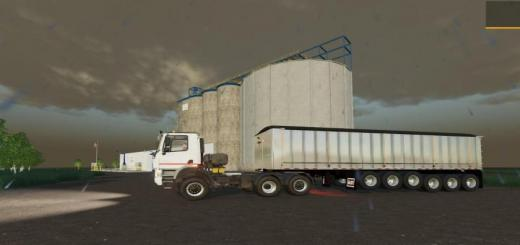 Photo of FS19 – 6 Axle Dump Trailer V1