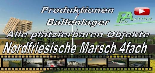 Photo of FS19 – All Productions For The Nf March 4-Fold Holzlager V2.5