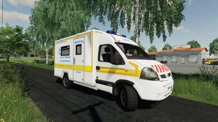 FS19 - Ambulance Samu V1