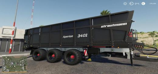 Photo of FS19 – Aperion 3401 Trailer V1