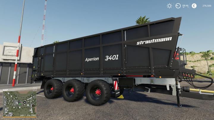 FS19 - Aperion 3401 Trailer V1