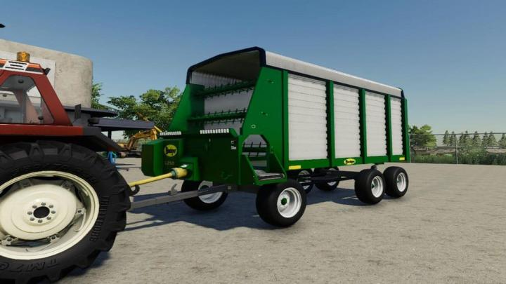 FS19 - Badger Forage Wagon V1
