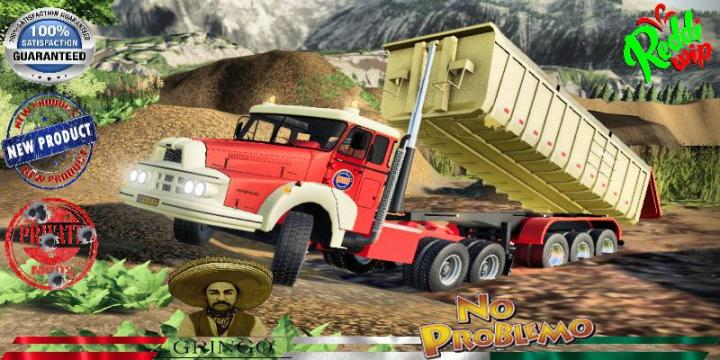 FS19 - Benne 3Axes Public Works V3