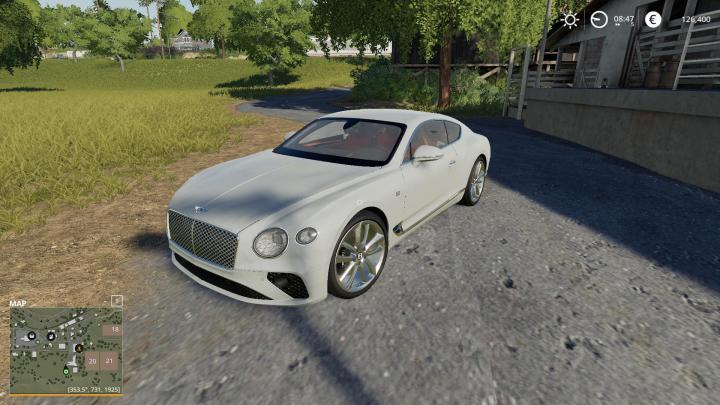FS19 - Bentley Gt Black Edition V1