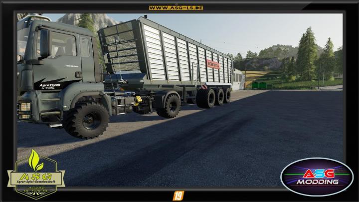 FS19 - Bergmann Htw 85 Trailer V1.0.1