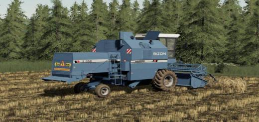 Photo of FS19 – Bizon Rekord Z058 Harvester V1