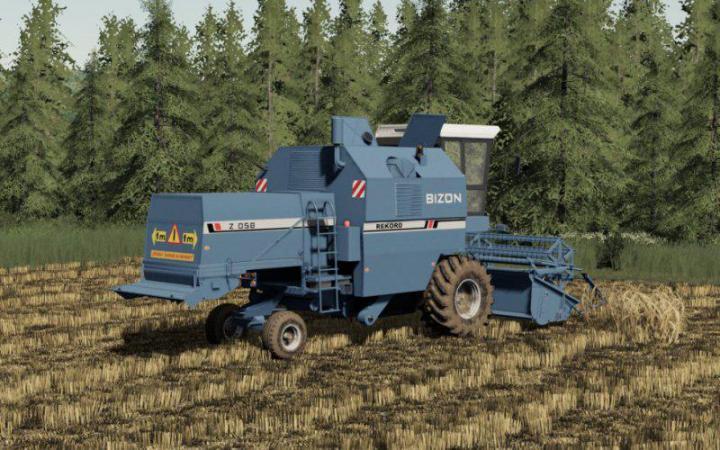 FS19 - Bizon Rekord Z058 Harvester V1
