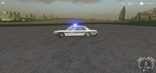 Photo of FS19 – Bmw 7 Military Police V1