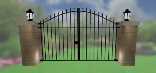 Photo of FS19 – Brick Fences Pack V1