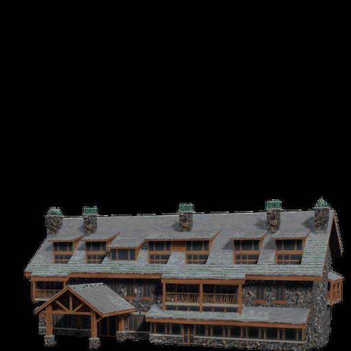 FS19 - Brick Hotel V1