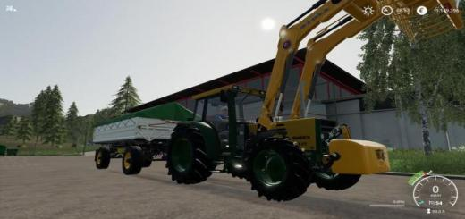 Photo of FS19 – Buhrer 6135 A Tractor V1.1